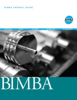 Bimba Product Guide 2011