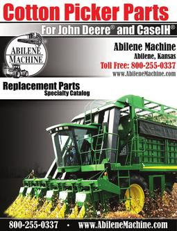 John Deere® and Case IH® Cotton Pickers replacment parts 2011