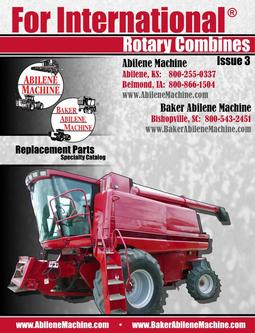 Case IH® & International® Rotary Combines  Replacement Parts Specialty 2011