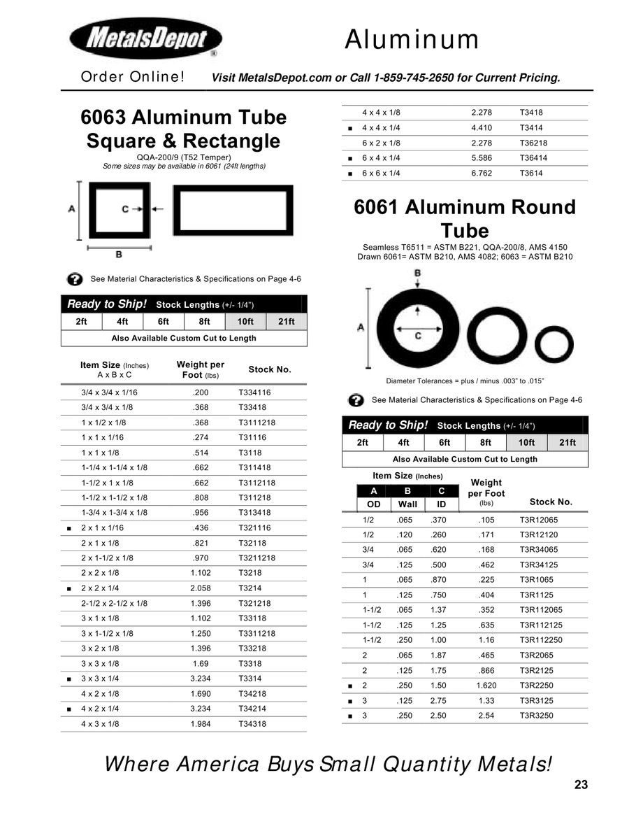 Online Metal Supply 6063-T52 Aluminum Angle 1 x 1 x 1//8 x 36 inches