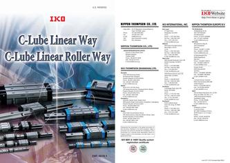 Catalogue: IKO Nippon Thompson C-Lube Linear Way C-Lube Linear Roller Way