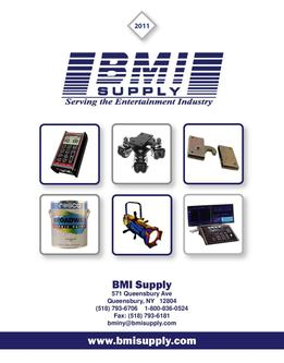 2011 BMI Supply Catalog