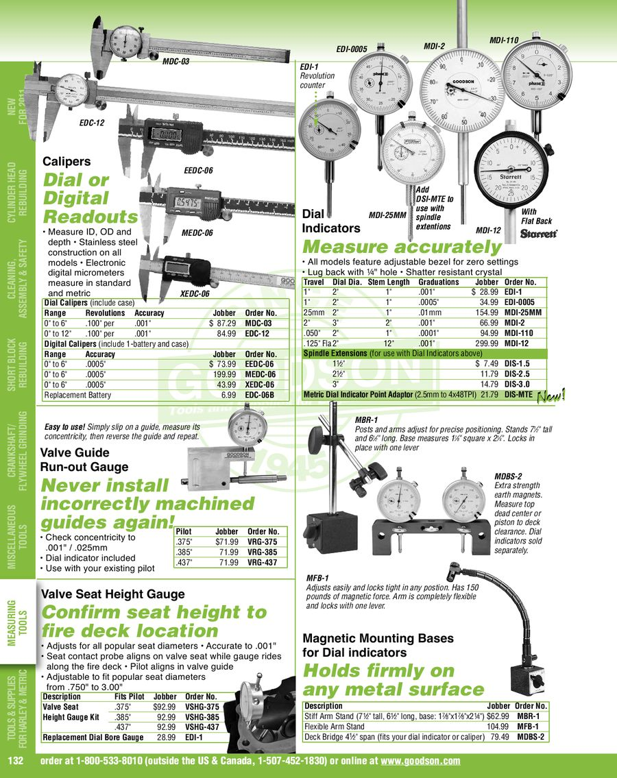 Page 134 Of 2011 Tools Supplies For Engine Builders Exhaust Valve Diagram 147