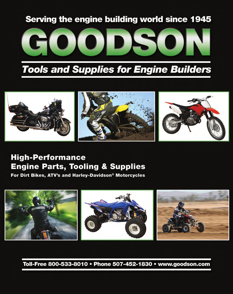 V-Twin /Metric Tools & Supplies for Engine Builders by Goodson Tools
