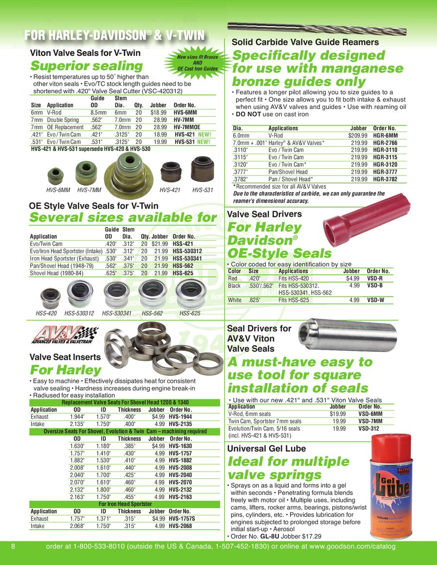 Page 10 of V-Twin /Metric Tools & Supplies for Engine Builders