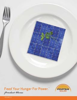 Solar Products 2011