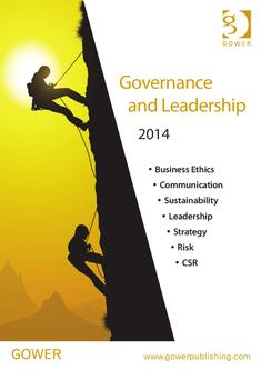 Governance and Leadership 2014