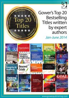 Gower's Top 20 Bestselling titles January - June 2014