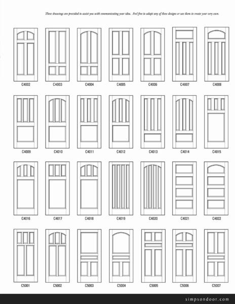 Page 2 of custom doors design ideas for Door design catalog