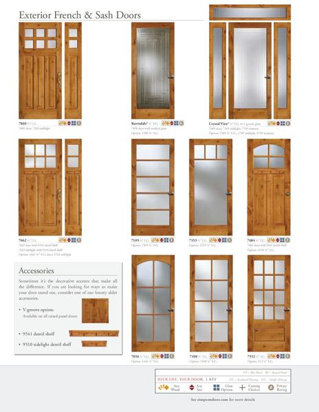Page 8 Of Knotty Alder Doors