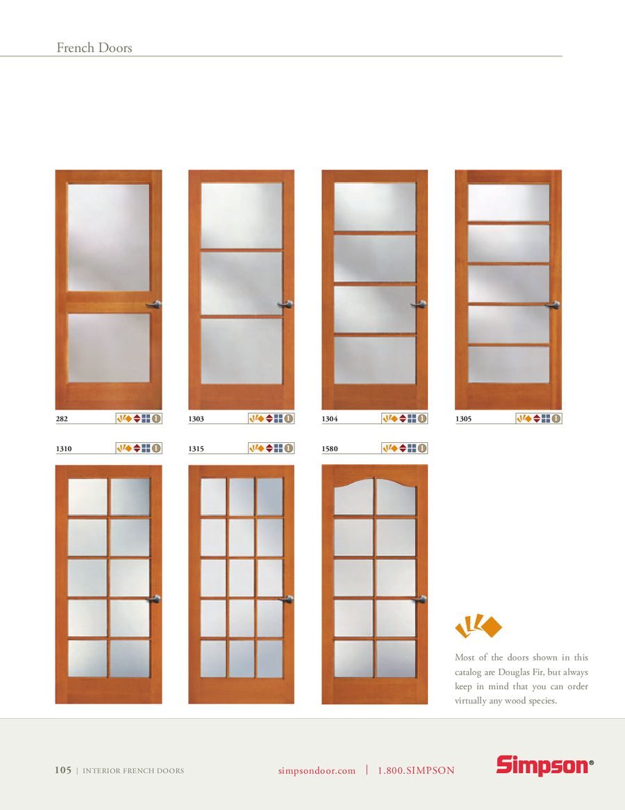 Life Goes Through It Interior French Doors By Simpson Door Company