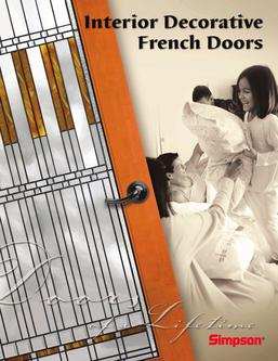 Interior Decorative French Doors