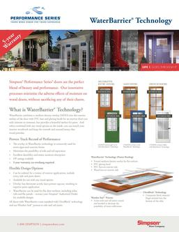 Performance Series® Door Options