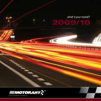 Catalogue: Motorart Car models mini catalogue