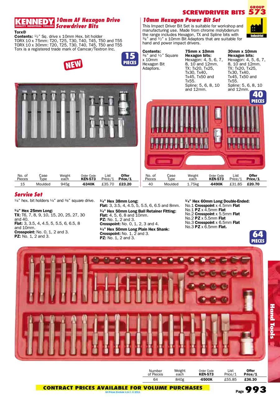 Page 222 of Hand Tools 2011