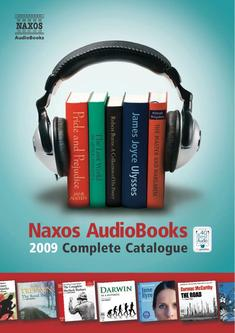 Naxos AudioBooks Catalogue 2009 – Rest of the World Version