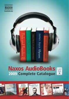 Naxos AudioBooks Catalogue 2009 – North America Version