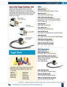 toggle switch wiring diagram in d 100 marine catalog by. Black Bedroom Furniture Sets. Home Design Ideas