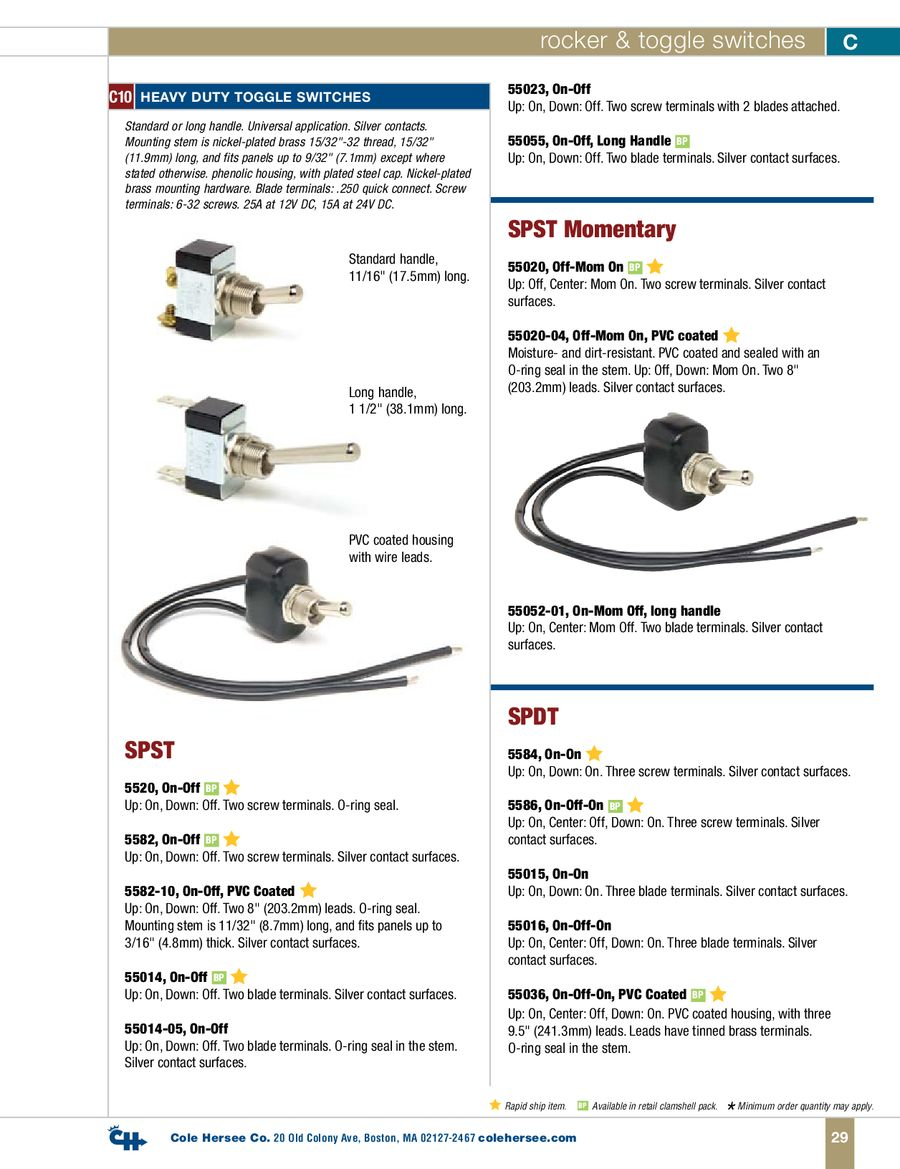 Page 9 Of D 400 Heavy Duty Rocker Toggle Switches Series Parallel Switch 8 Terminal P 15