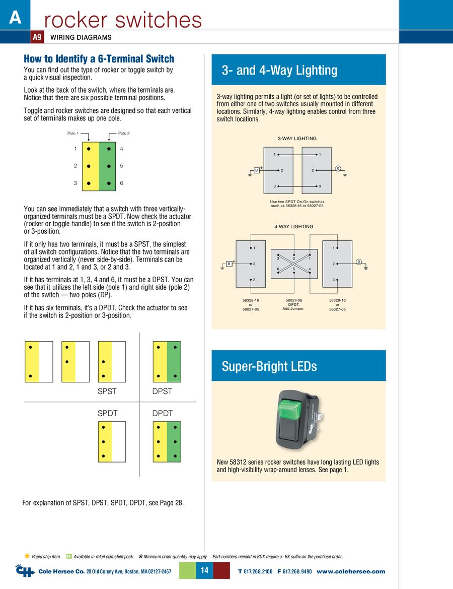 Page 22 Of D 275 Master Catalog Is A 4 Way Switch Dpdt P 179