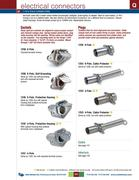 2 pole electrical connectors in d 275 master catalog by. Black Bedroom Furniture Sets. Home Design Ideas