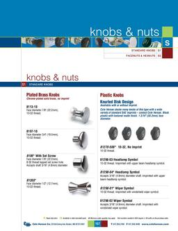 D-275 Master Knobs & Nuts