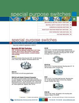 D-275 Master Special Purpose Switches