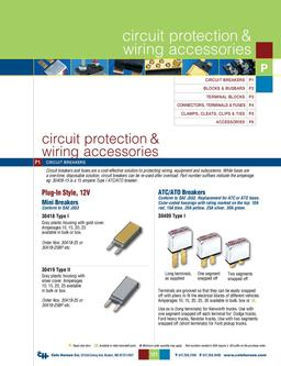 D-275 Master Circuit Protection & Wiring Accessories