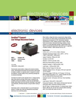 D-275 Master Electronic Devices