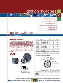 D-275 Master Ignition Switches