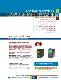 D-275 Master Rocker Switches