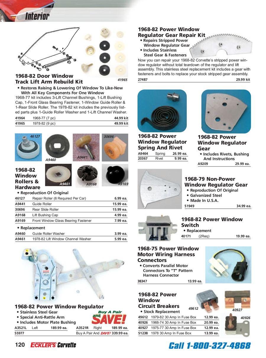Page 125 Of Corvette C3 Parts 1968 Fuse Box P 236