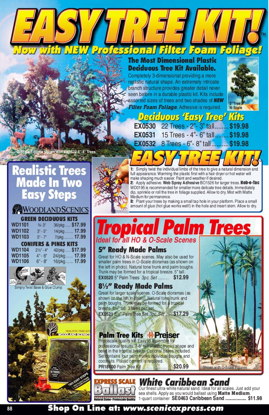 Tree Sets/Masonry Components by Scenic Express