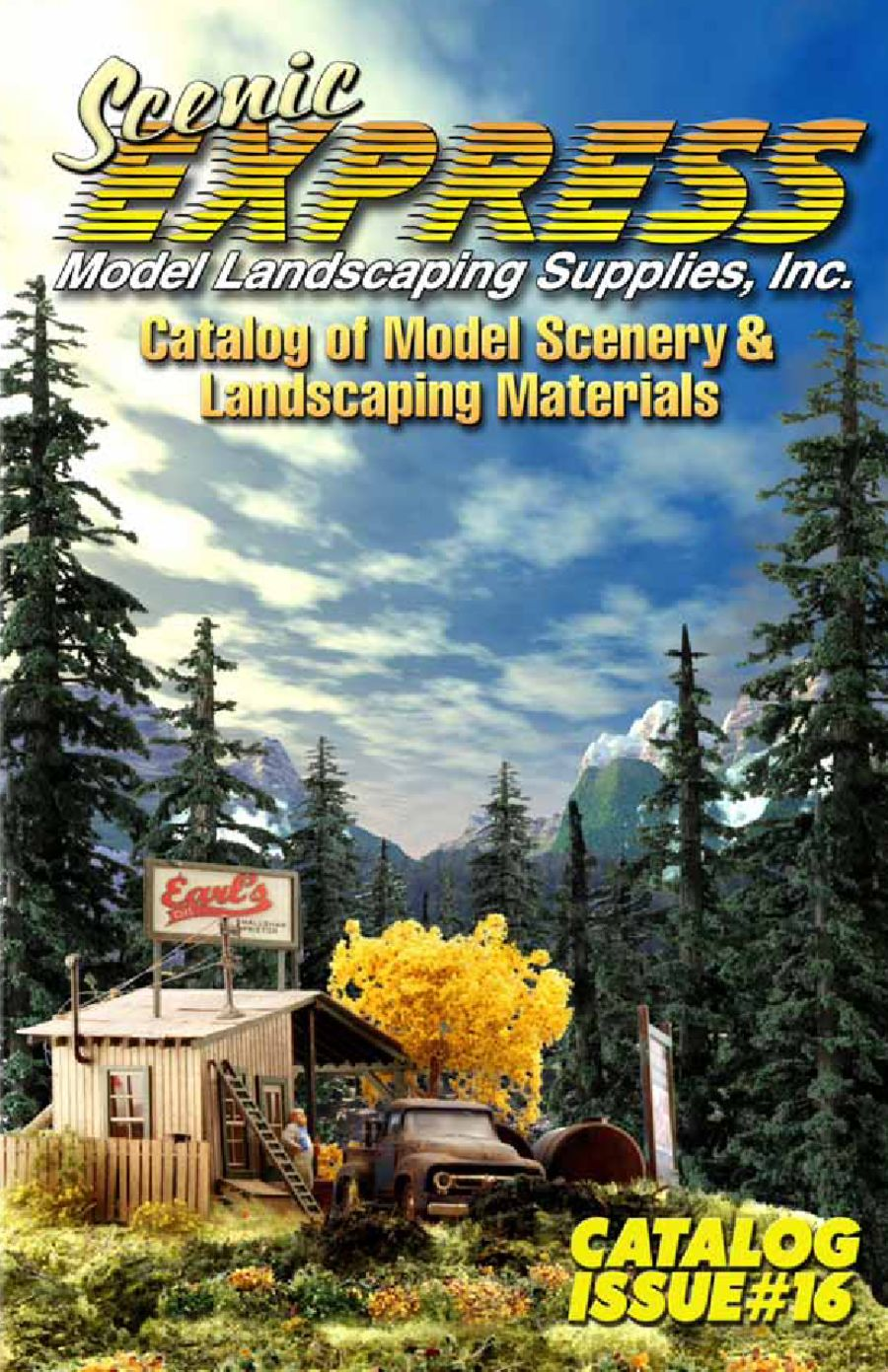 Model Landscaping Supplies by Scenic Express