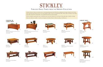 Stickley Furniture Coffee Tables Furniture Designs