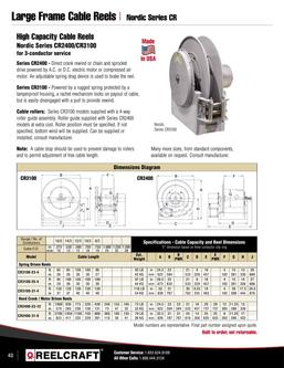 Nordic Series CR Cable Reels 2016
