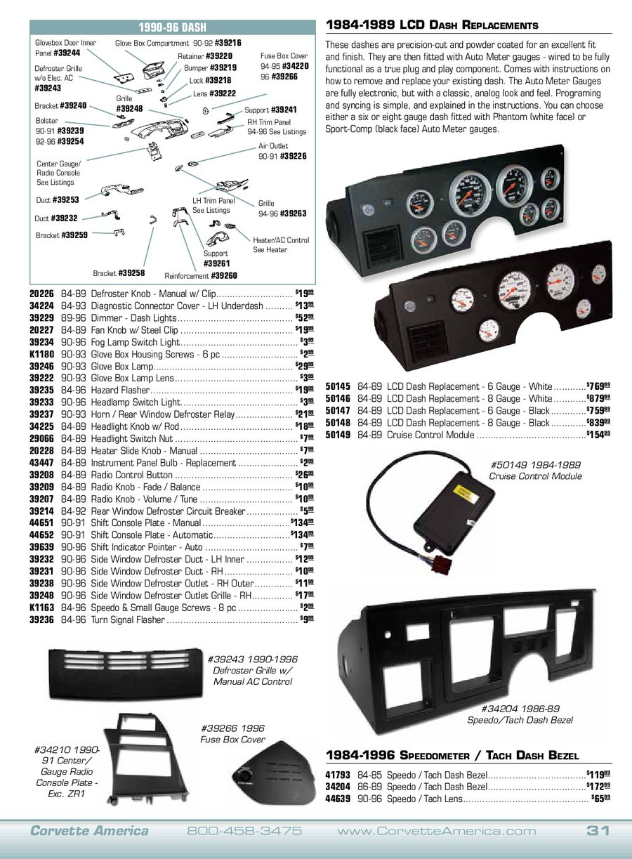 Page 10 Of 2011 Corvette C4 Parts 1990 Fuse Box P 52