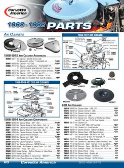 2013 C3 Parts Air Cleaner-Hardtop