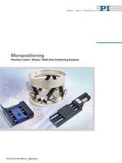 Micropositioning Alignment Solutions