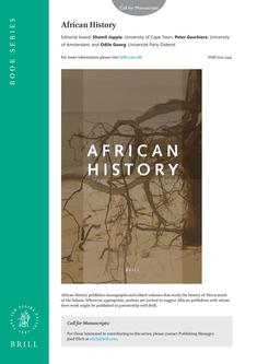 African History (AFH) Brochure 2013