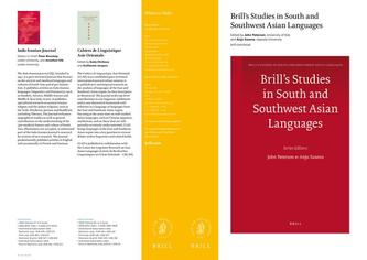Brill's Studies in South and Southwest Asian Languages 2014