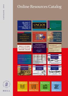Online Resources Catalog 2014