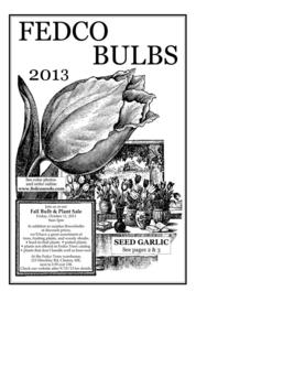Fedco Bulbs 2014