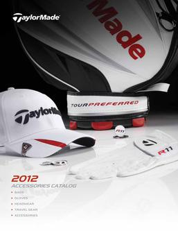 Catalogue: Drivingi TaylorMade Accessories 2012