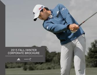 adidas Golf Corporate Catalog Fall 2015