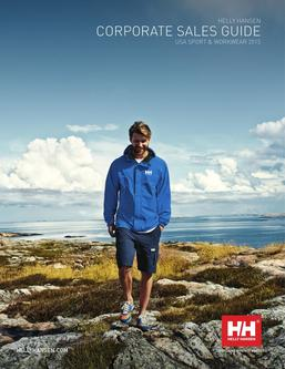 Helly Hansen Corporate Sales 2015