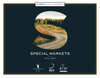 Summit Golf Brands Fall 2016