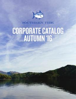 Southern Tide Corporate Catalog Autumn 2016