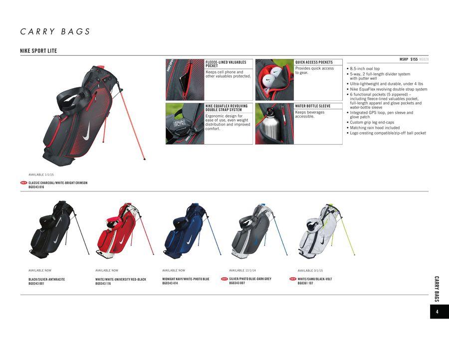 3111e15783 Nike Golf Bags 2015 by Drivingi