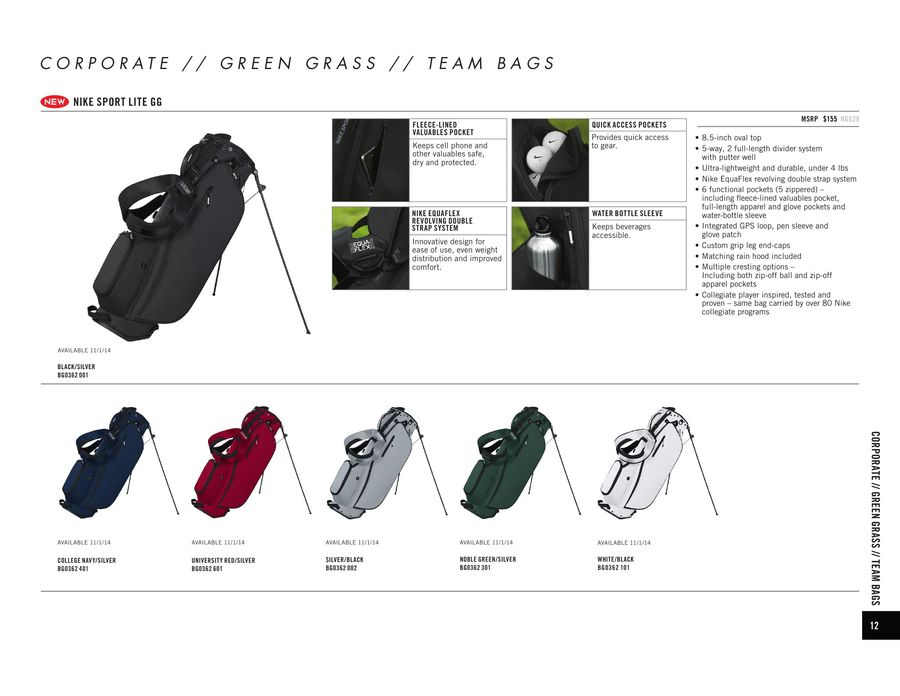 25b4a88252 Page 16 of Nike Golf Bags 2015